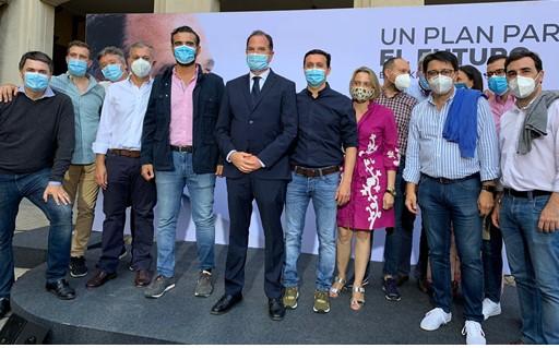 El PP de Almería acude a Euskadi en apoyo a Iturgaiz ante el 12J