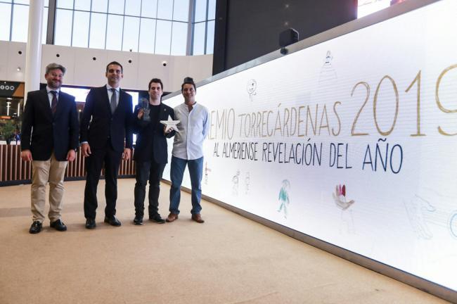 José Herrera gana el 'Premio al Almeriense Revelación' del CC. Torrecárdenas
