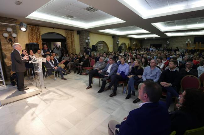 El PP pide el voto en Cuevas para tener agua