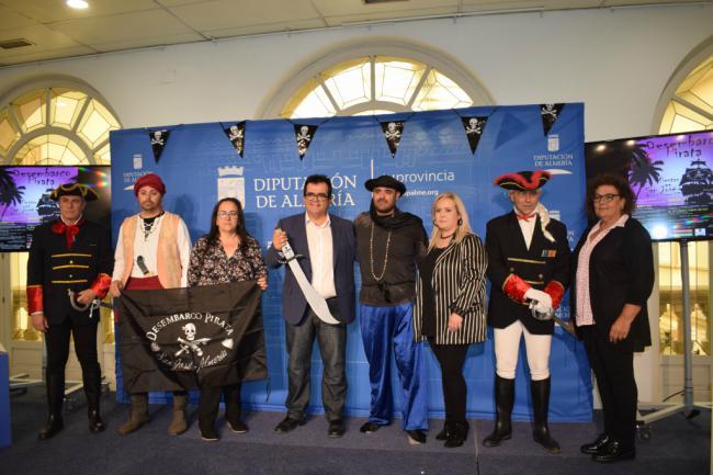 250 actores aficionados de Níjar en la IX edición del Desembarco Pirata