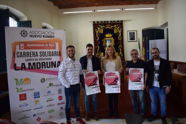El Ayuntamiento de Níjar apoya la I carrera solidaria contra las adicciones, La Moruna