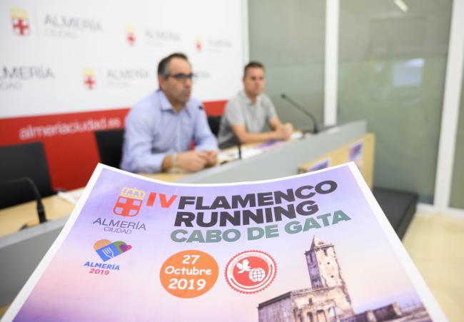 La IV Flamenco Running recorrerá Cabo de Gata el 27 de octubre