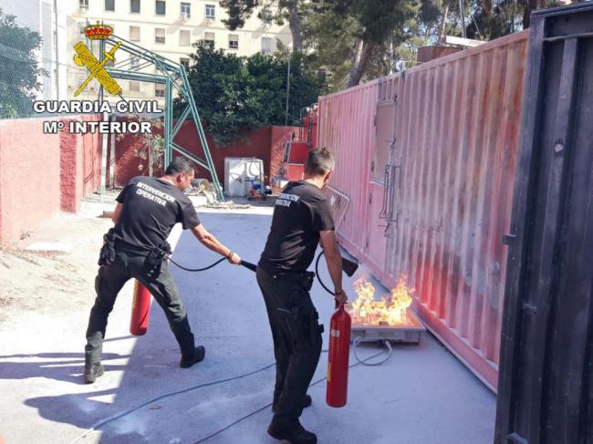 Jornada de Formación en Prevención y Extinción de Incendios con Guardia Civil y Bomberos