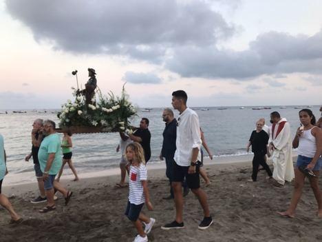 Aguamarga celebra desde el miércoles tres días de fiesta en honor a Santiago Apóstol