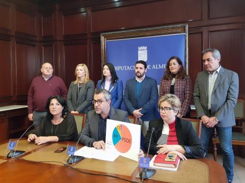 El PSOE denuncia que PP y Cs se reparten Galasa