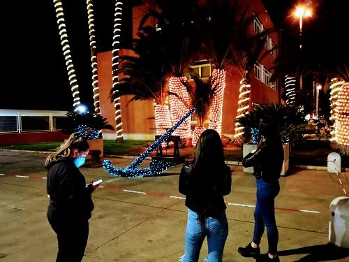 El Puerto de Almería se engalana por Navidad