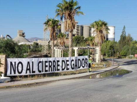 Pleno en el Bajo Andarax en apoyo de los trabajadores de CEMEX