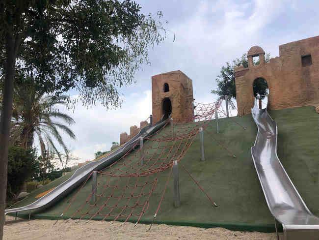El Parque de las Familias recupera 'su Alcazaba'