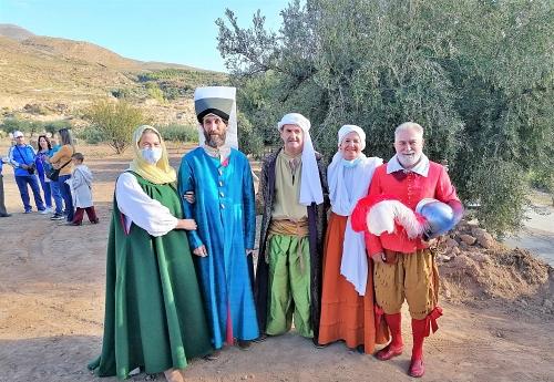 Padules se echa a la calle para disfrutar de la Recreación de la Paz de las Alpujarras