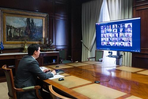 El teletrabajo se queda ya en la Diputación de Almería