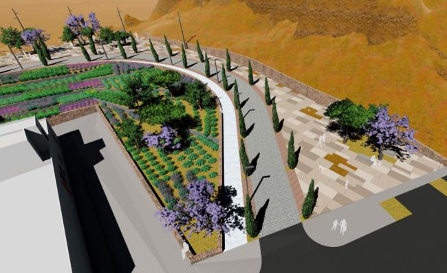 El Ayuntamiento adjudica las obras que mejorarán el acceso y la imagen del entorno de la Alcazaba