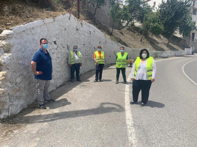 El PFEA gestionado por Diputación genera más de 1.200 jornales en Sierro y Suflí