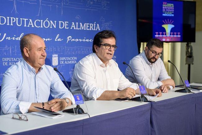 Diputación reúne en Abrucena a más de 2.000 músicos con motivo del XX Festival de Bandas
