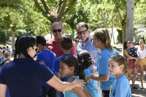 Más de 200 niñ@s participan en el Encuentro de las Escuelas de Verano del Río Nacimiento