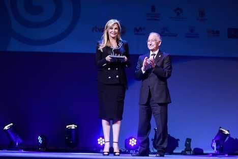Alison Doody ha recogido el Premio 'Almería, Tierra de Cine'