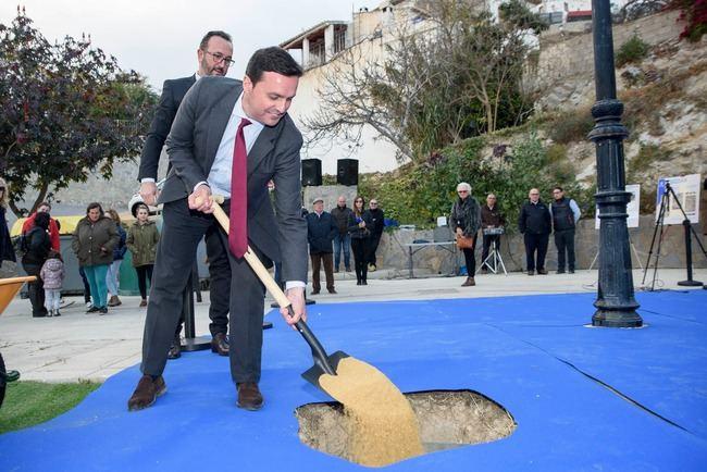 Diputación levanta el edificio que será el epicentro de la vida social y cultural de Bédar