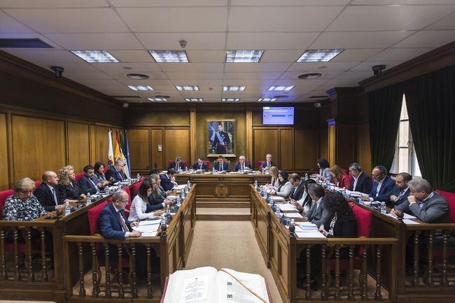 Diputación celebra un Pleno histórico con más de 9,6 millones de inversiones por unanimidad