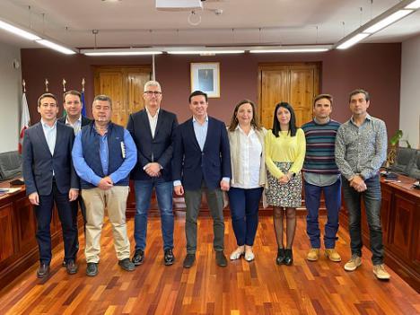Respaldo del presidente de Diputación al alcalde de Huércal de Almería