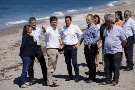El PP llevará al Congreso el estado de la playa de Balerma