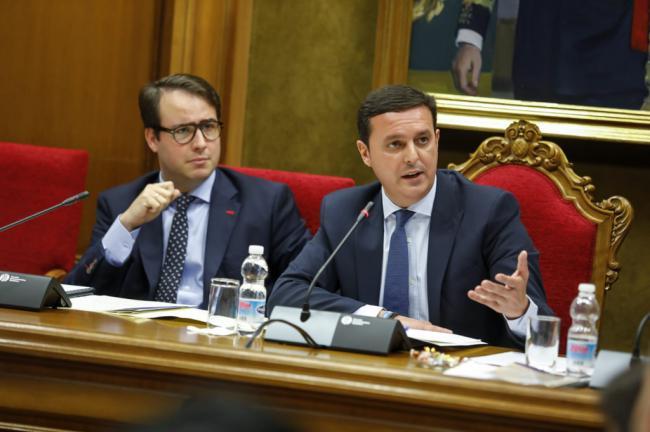 El retraso del Gobierno del Estado obliga a la Diputación a adelantar dinero para el Hospital Provincial