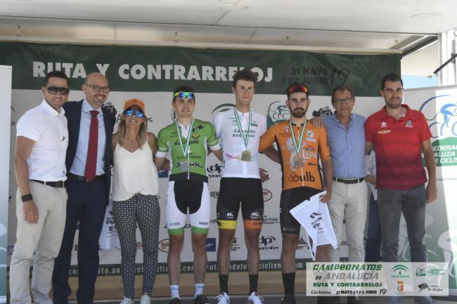 El ejidense Juan José Moreno Campeón de Andalucia de Ciclismo en Ruta