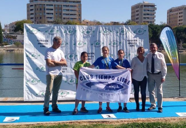 Finaliza el Campeonato de Andalucía de remo en botes cortos