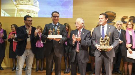 El vicepresidente de Diputación apuesta por la familia como nexo de unión en el Pregón de Navidad