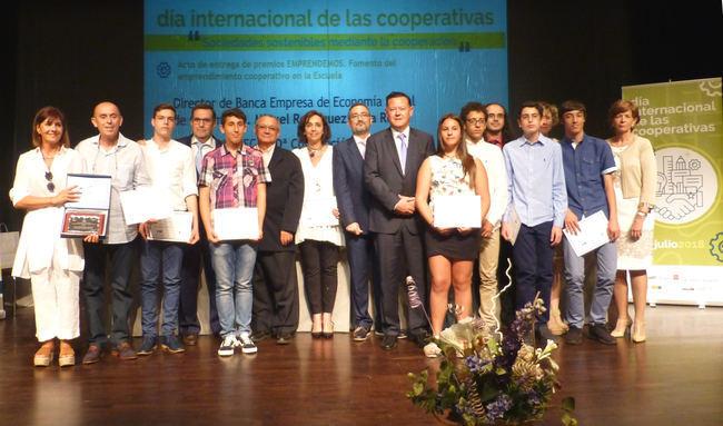 Cajamar premia cooperativas de Murcia, Granada y Madrid