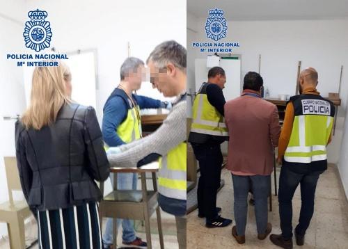 10 detenidos en El Ejido por falsificar documentación para regularizar su situación en España