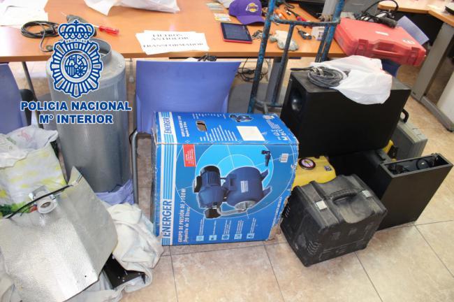 6 detenidos por 25 robos en Almería y el Andarax