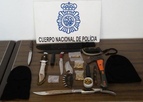 15 detenidos y 9 pisos registrados en una operación antidroga en Almería