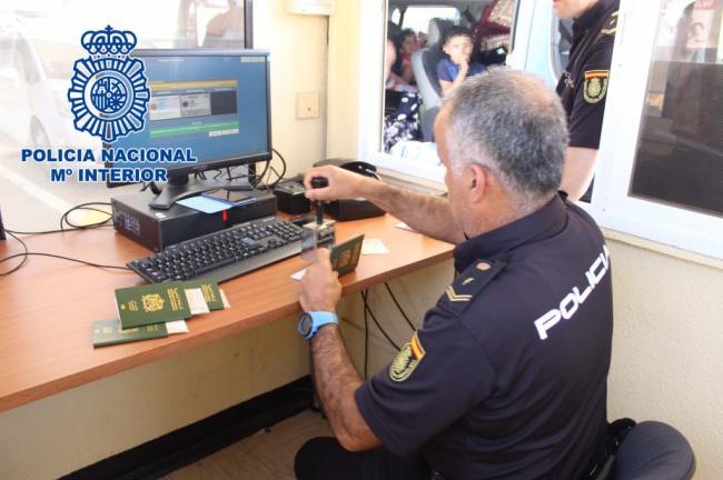 La Policía Nacional en Almería detiene en 48 horas a 6 personas huídas de la justicia española