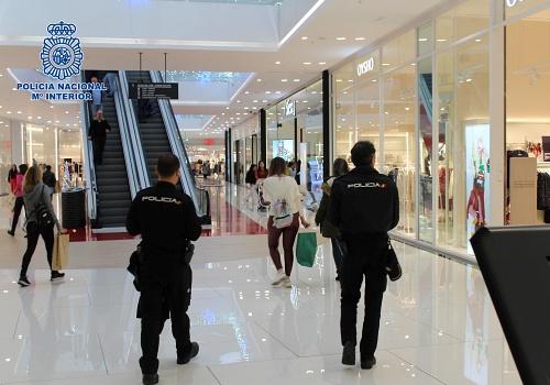 La Policía Nacional detiene a una 'descuidera' con un amplio historial delictivo