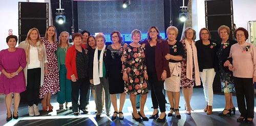Esperanza Pérez reconoce el papel de la mujer nijareña el 8M