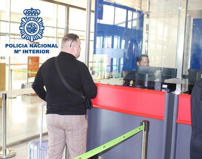 Reclamado por Francia por tráfico de drogas es capturado en Almería cuando pretendía pasar a Marruecos