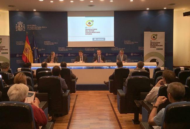 El sector agroalimentario genera 62.000 millones de euros de valor añadido