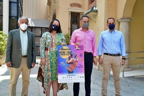 El espectáculo del balonmano playa llegará a Almería con el 'Arena 1000'