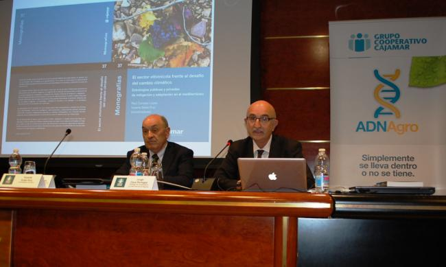 Cajamar edita una publicación sobre el vino frente al desafío del cambio climático