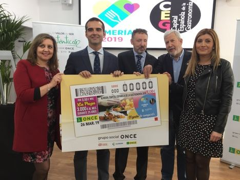 La ONCE saca sabor a Almería
