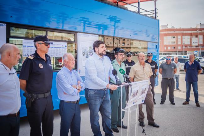 Rutas fotográficas y autobús turístico gratuito en la Semana de la Movilidad de Roquetas