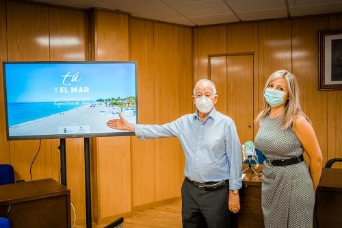 Roquetas lanza una campaña que invita a vivir la experiencia segura de sus playas