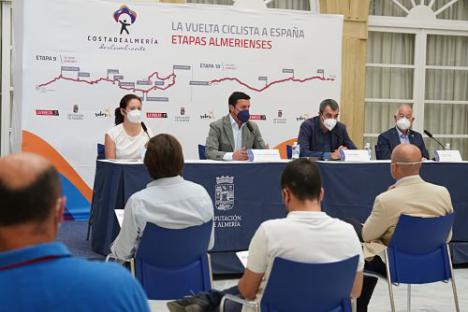 Dos espectaculares etapas de La Vuelta 21 coronarán Almería