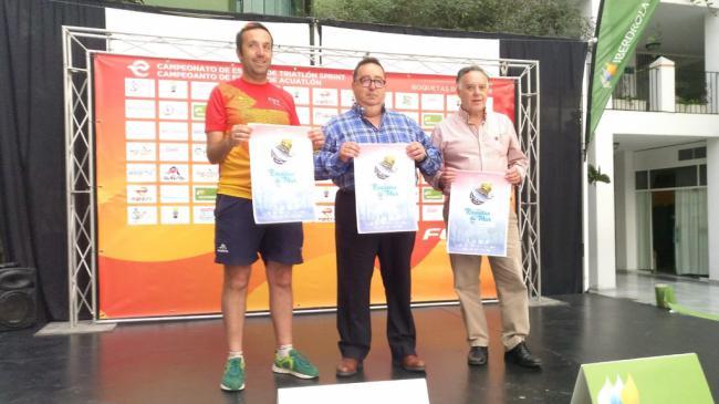 Recta final en la preparación de los Campeonatos de España de Triatlón Sprint y Acuatlón 2019 en Roquetas de Mar