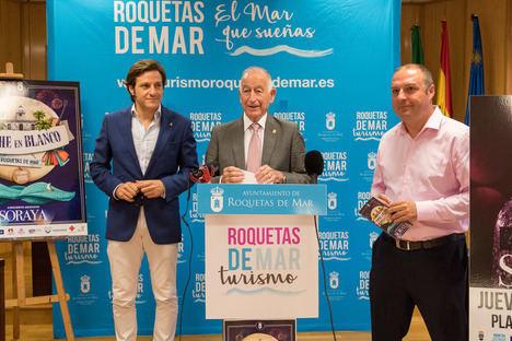 La Noche en Blanco de Roquetas se amplía a cuatro escenarios con un concierto de Soraya