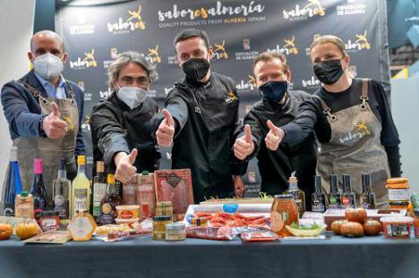 'Sabores Almería' conquista el Salón Gourmets con sus cocineros y productores