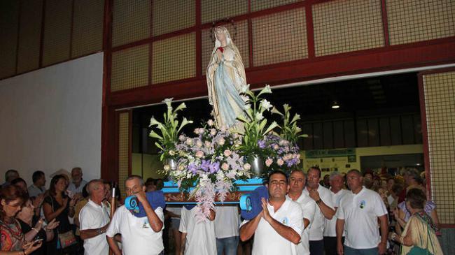 La Gloria celebra sus fiestas en honor a la Virgen de Lourdes este fin de semana