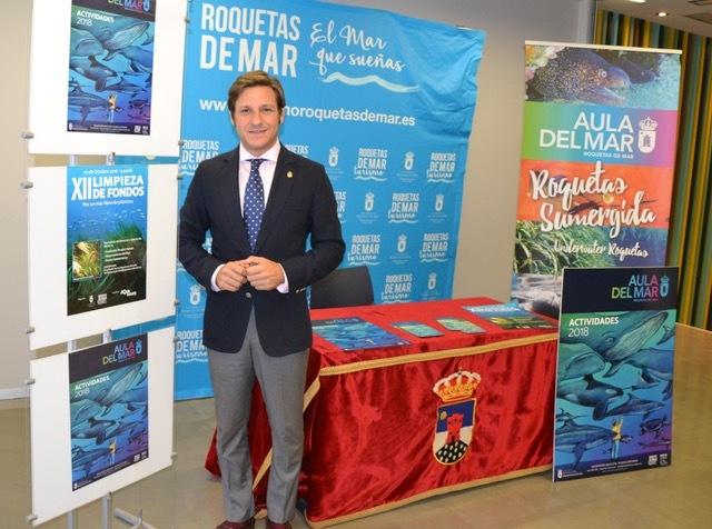 El Aula del Mar de Roquetas supera los 13.000 visitantes en 2018