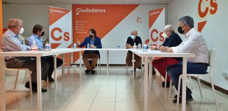 Los Promotores traslada a Ciudadanos las principales preocupaciones del sector en Almería