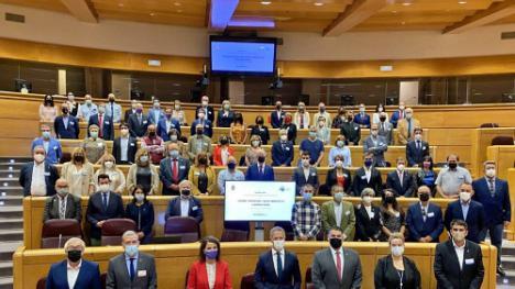 Níjar acude a las III Jornadas de los Pueblos más Bonitos de España en el Senado