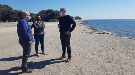 Habrá solución definitiva a la erosión en el litoral de Palomares